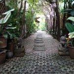 Chemin d'entrée