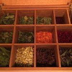 Select your own herbs and flowers for your tea