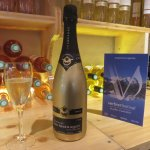 Golden champagne at the Verbier Festival