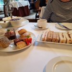 Afternoon Tea at Langtry Manor Bournemouth Dorset