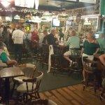 Bill Lewis of Vero Beach, Florida, visiting Kelley's Irish Pub.