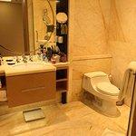 Standard twin room bathroom