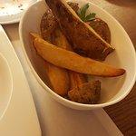 Patatas fritas artesanas...algo caras para lo que realmente son