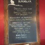 Restaurant Alpenblick Foto