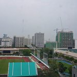 National Stadium is next to the hotel