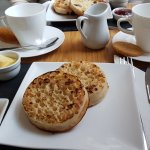 Crumpets and Wensleydale- magic on a cold day