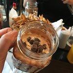 Meio milkshake de nutella