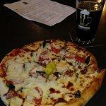 Thunderhead pizza, fresh toppings, wonderful.