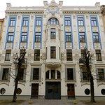 Riga Art Nouveau Museum - Frontal facade, Riga, Latvia