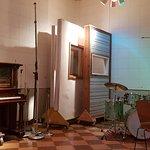 Inside the main recording studio
