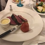 Chateaubriand, one of the best in menu
