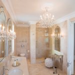 Our stylish and opulent bathrooms