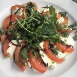 Tomato, Mozzarella & rocket salad