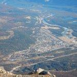 Town of Jasper from Whisler Mountain via SkyTram