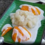 29. Sweet Sticky rice with fresh mango
