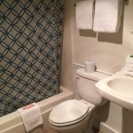 Standard bathroom in our standard annex