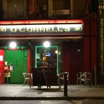 O'Connell's during a chilly November evening - warmer inside!