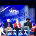Bill Lewis of Vero Beach, Florida, on a recent visit to CPAC in Washington, DC.