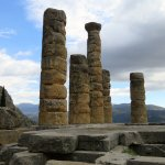 The nearby Delphi historical site.