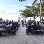 Our Gorgeous wedding on the Gran Villa Patio