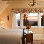 Beautiful views of the Catskill Mountains in Blue mountain View Suite