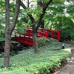 Bridge in Japanese Garden New Otani Hotel