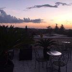 terrazza con vista panoramica e con tramonto spettacolare
