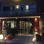 ingresso del raganelli hotel in Roma