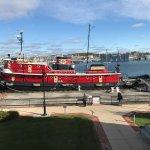 John Purves tugboat (can be toured when in warmer season)