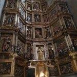 Altar central. Igreja de San Vicente