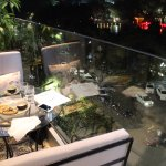 The best table of the restaurant : A private balcony