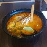 Spicy Pork Ramen Dish