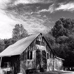 A barn behind the Story Inn restaurant.
