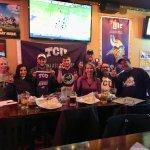 TCU watch party. Go Frogs!