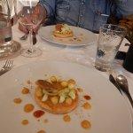 Tartelette aux pommes et chocolat