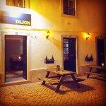 Dijon Bistro by night