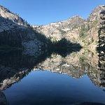 Eagle Lake...the source of the beautiful falls.
