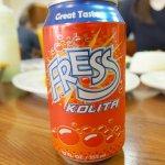 Fresh Kolita (Venezuelan soda)