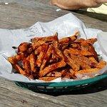 Amazing sweet potatoe fries!