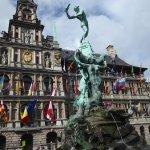 The Brabo Fountain, Antwerp