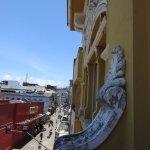 Jorge Amado's upper floor view