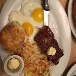 yammmmmmy steak and egg
