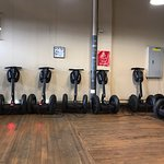 The waiting Segways
