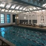 They tell me that this pool is the oldest continually running pool in operation in the country.