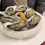 My oyster appetizer
