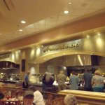 Buffet, great selection of food