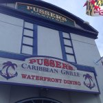 Pusser's Caribbean Grill as seen from the outdoor dining area