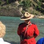 A real Mounti as a tourist guide