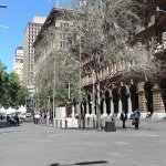 Location outside the GPO in Martin Place, Sydney