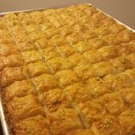 Baklava. Fresh out of the oven.